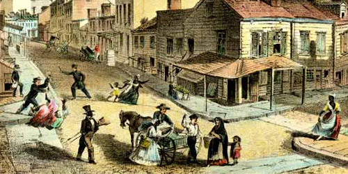 Life in Mid-19th Century Five Points